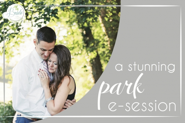 Virginia Park Engagement Session as seen on Hill City Bride