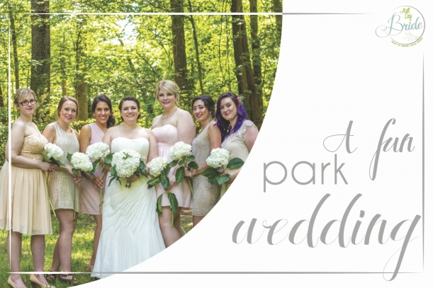 Fun Park Wedding as seen on Hill City Bride