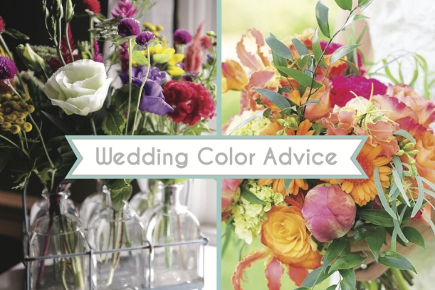Wedding Color Advice as seen on Hill City Bride