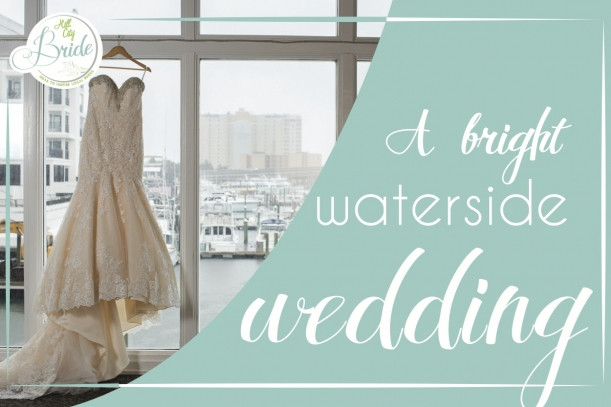 Waterside Wedding as seen on Hill City Bride
