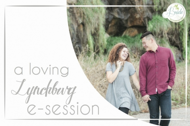 Downtown Lynchburg E-session as seen on Hill City Bride