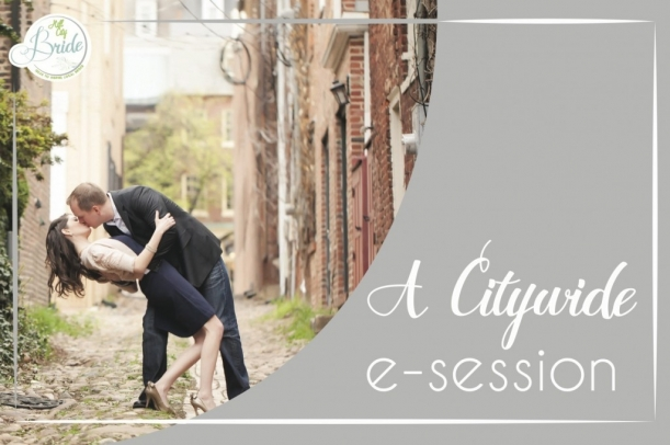 A Citywide Engagemenet as seen on Hill City Bride
