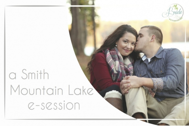 Smith Mountain Lake Engagement as seen on Hill City Bride