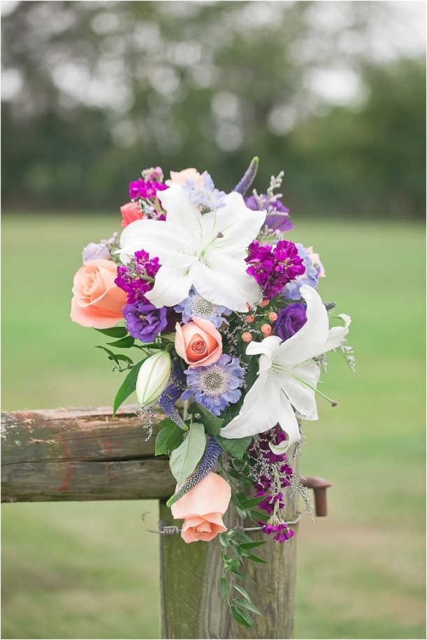 Romantic Colorful Wedding by Mollie Tobias as seen on Hill City Bride_0001