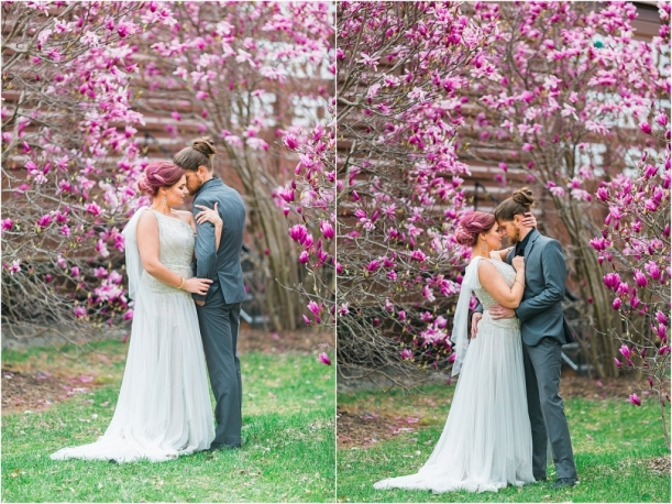 Old Town Manassas Blossom Wedding Shoot as seen on Hill City Bride by Nikki Schell