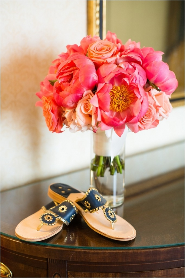 Navy and Pink Richmond Wedding as seen on Hill City Bride by Allison Maxwell Photography 2