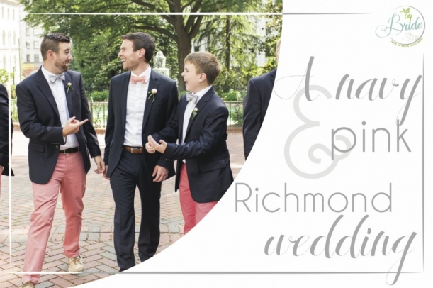 Richmond Wedding as seen on Hill City Bride