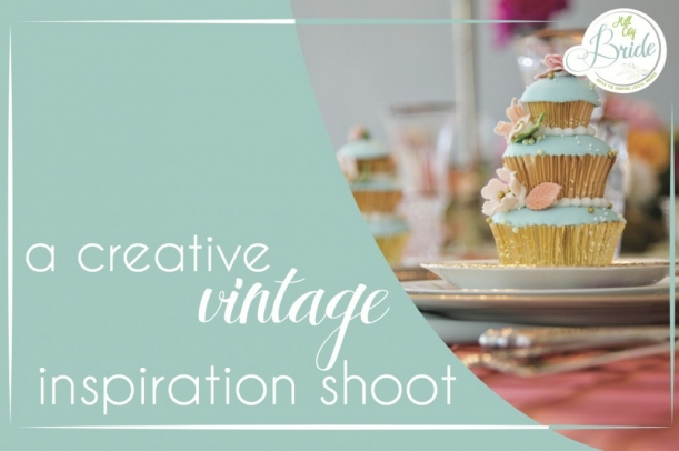 Creative Vintage Inspiration Shoot as seen on Hill City Bride
