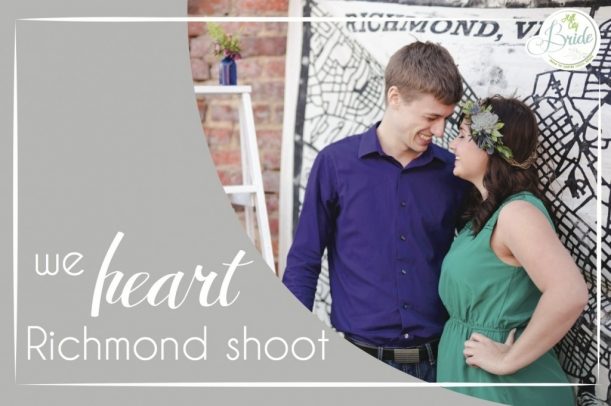 We Love Richmond Engagement Shoot as seen on Hill City Bride
