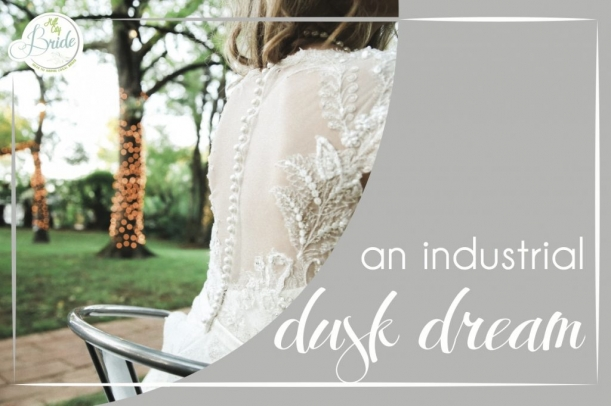 Industrial Style Shoot by Gaudium Photography as seen on Hill City Bride