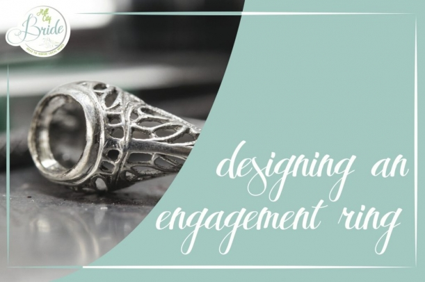 Engagement Ring Design as seen on Hill City Bride