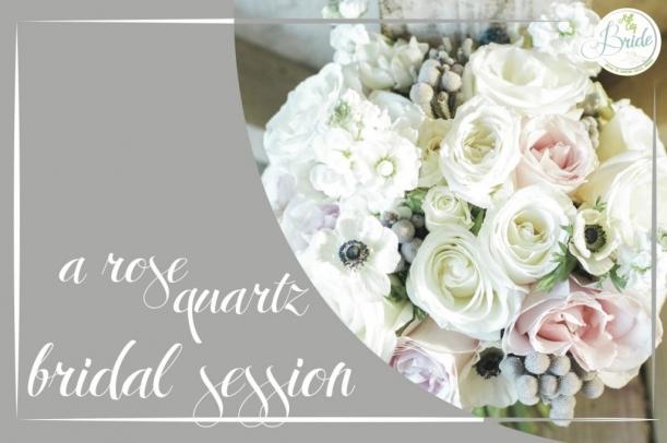 Rose Quartz Bridal Session as seen on Hill City Bride