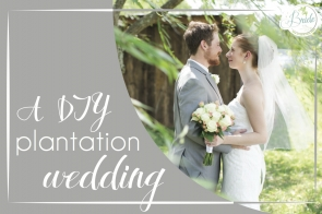 Virginia Plantation Wedding as seen on Hill City Bride