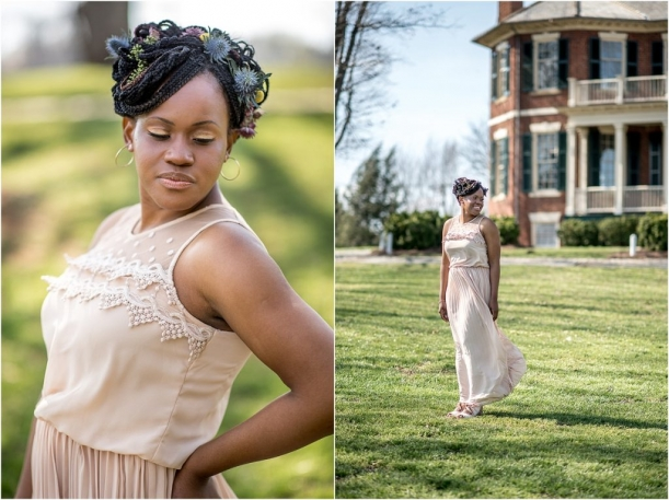 Rose Quartz and Serenity Lynchburg Virginia Style Shoot as seen on Hill City Bride_0001