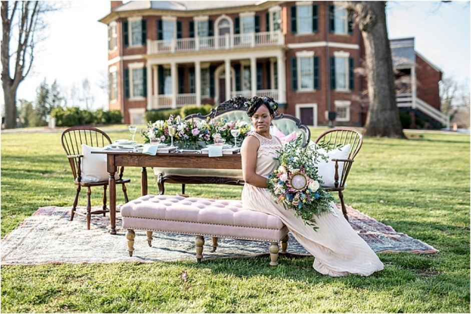 Rose Quartz and Serenity Lynchburg Virginia Style Shoot as seen on Hill City Bride_0018
