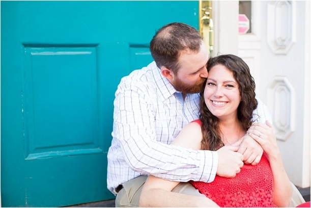 Colorful Virginia Engagement Session as seen on Hill City Bride by Bethanne Arthur_0003