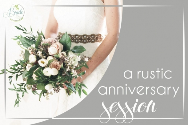 Rustic Anniversary Session as seen on Hill City Bride Wedding Blog