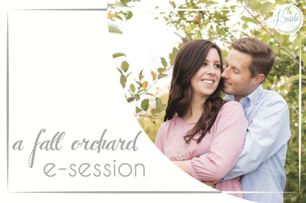 Virginia Apple Orchard Engagement as seen on Hill City Bride