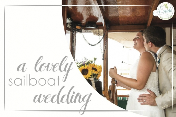 Virginia Sailboat Wedding as seen on Hill City Bride