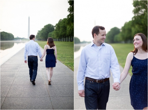 Lincoln Memorial Engagement as seen on Hill City Bride by Kir2ben