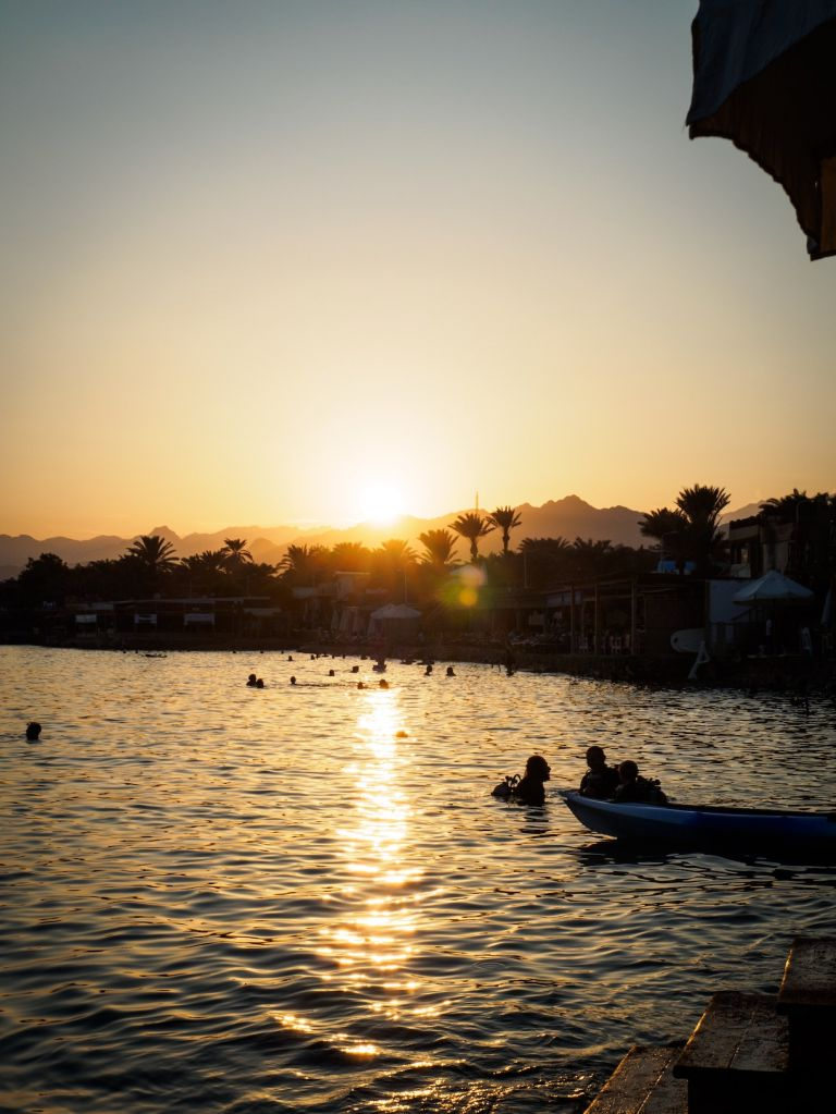 Unforgettable Honeymoon Destinations Dahab Egypt Sunset