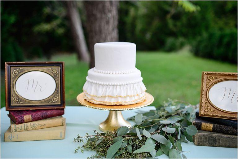 Virginia Book Wedding as seen on Hill City Bride