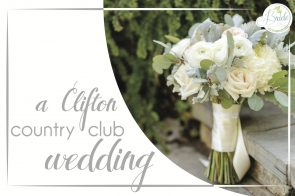 Clifton Country Club Wedding as seen on Hill City Bride Virginia Wedding Blog - blush, blue, first look, donut bar