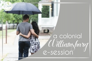 Colonial Williamsburg Engagement Session as seen on Hill City Bride Virginia Wedding Blog
