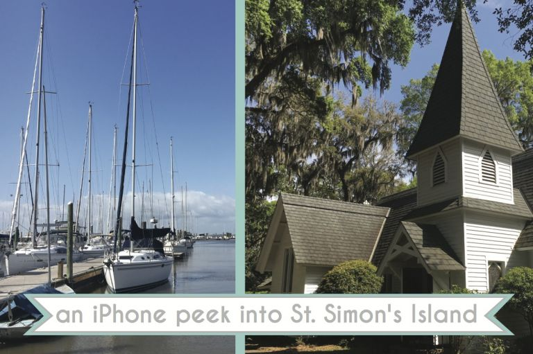 St. Simon's Island Georgia as seen on Hill City Bride Wedding Blog