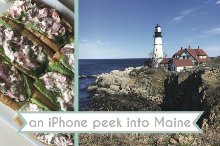 Portland Maine as seen on Hill City Bride Wedding Blog