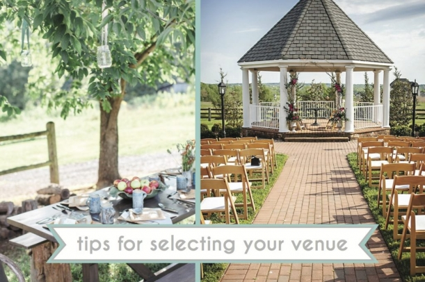 Tips for Selecting Your Venue as seen on Hill City Bride