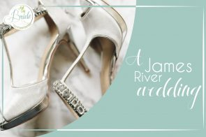 A James River Wedding as seen on Hill City Bride