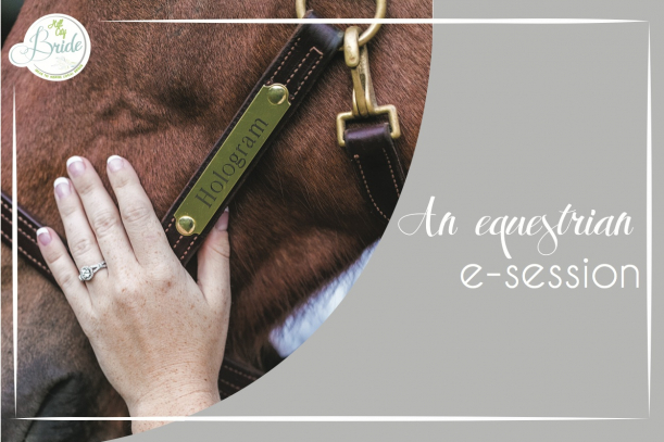 Equestrian E-session as seen on Hill City Bride Wedding Blog