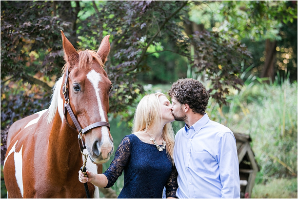 Horse Equestrian Engagement as seen on Hill City Bride Wedding Blog_0001