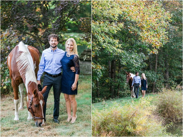 Horse Equestrian Engagement as seen on Hill City Bride Wedding Blog_0002