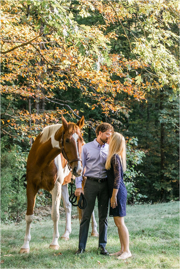 Horse Equestrian Engagement as seen on Hill City Bride Wedding Blog_0003