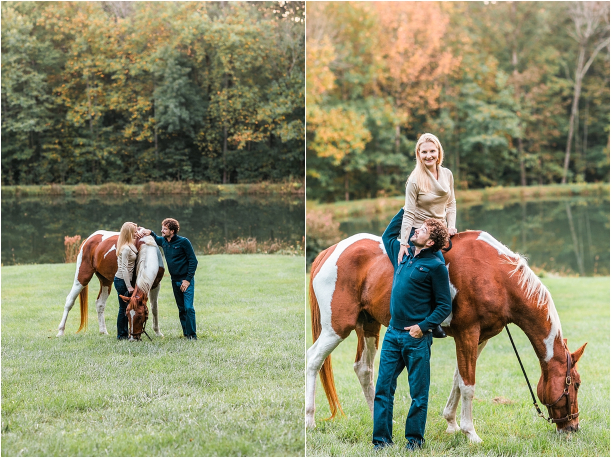 Horse Equestrian Engagement as seen on Hill City Bride Wedding Blog_0016