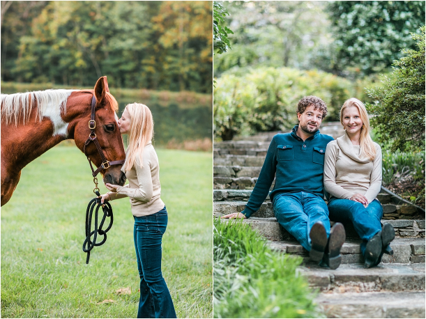 Horse Equestrian Engagement as seen on Hill City Bride Wedding Blog_0017
