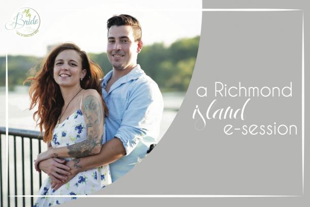 Richmond Island E-session as seen on Hill City Bride Wedding Blog