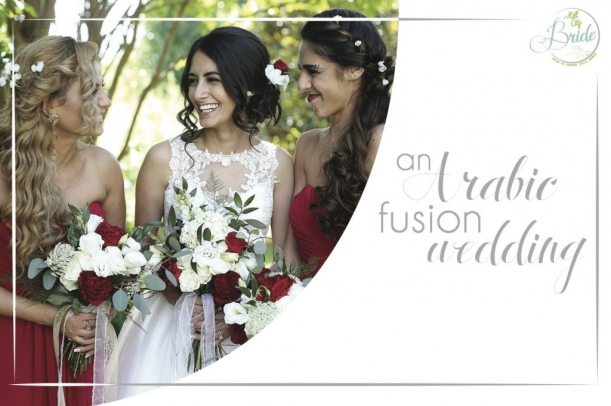 Arabic Fusion Wedding as seen on Hill City Bride
