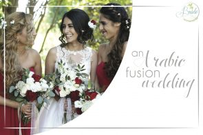 Arabic Fusion Wedding as seen on Hill City Bride - red, white, ethnic, outdoor