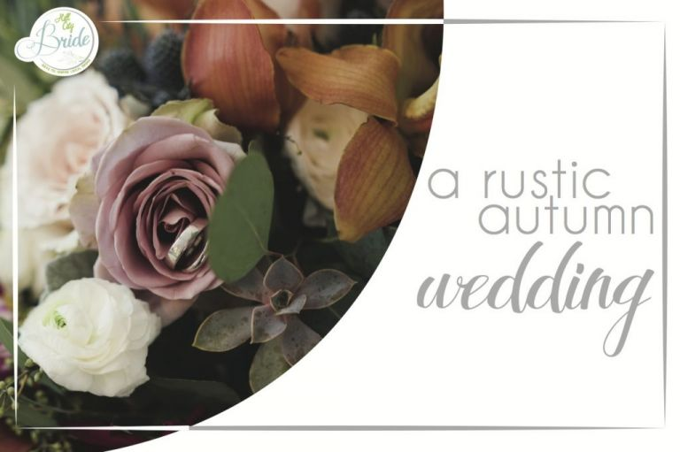 Rustic Autumn Wedding as seen on Hill City Bride