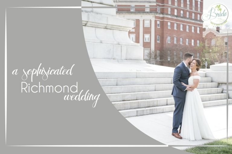 Sophisticated Richmond Wedding in Virginia as seen on Hill City Bride by Melissa Desjardins Photography