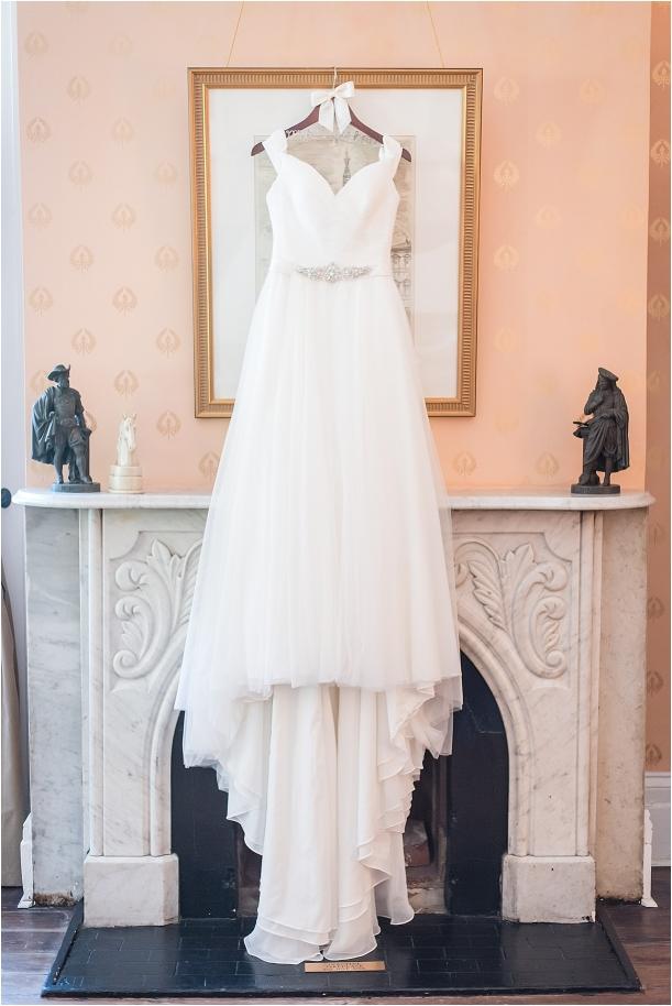 Sophisticated Richmond Wedding in Virginia as seen on Hill City Bride by Melissa Desjardins Photography Wedding Dress