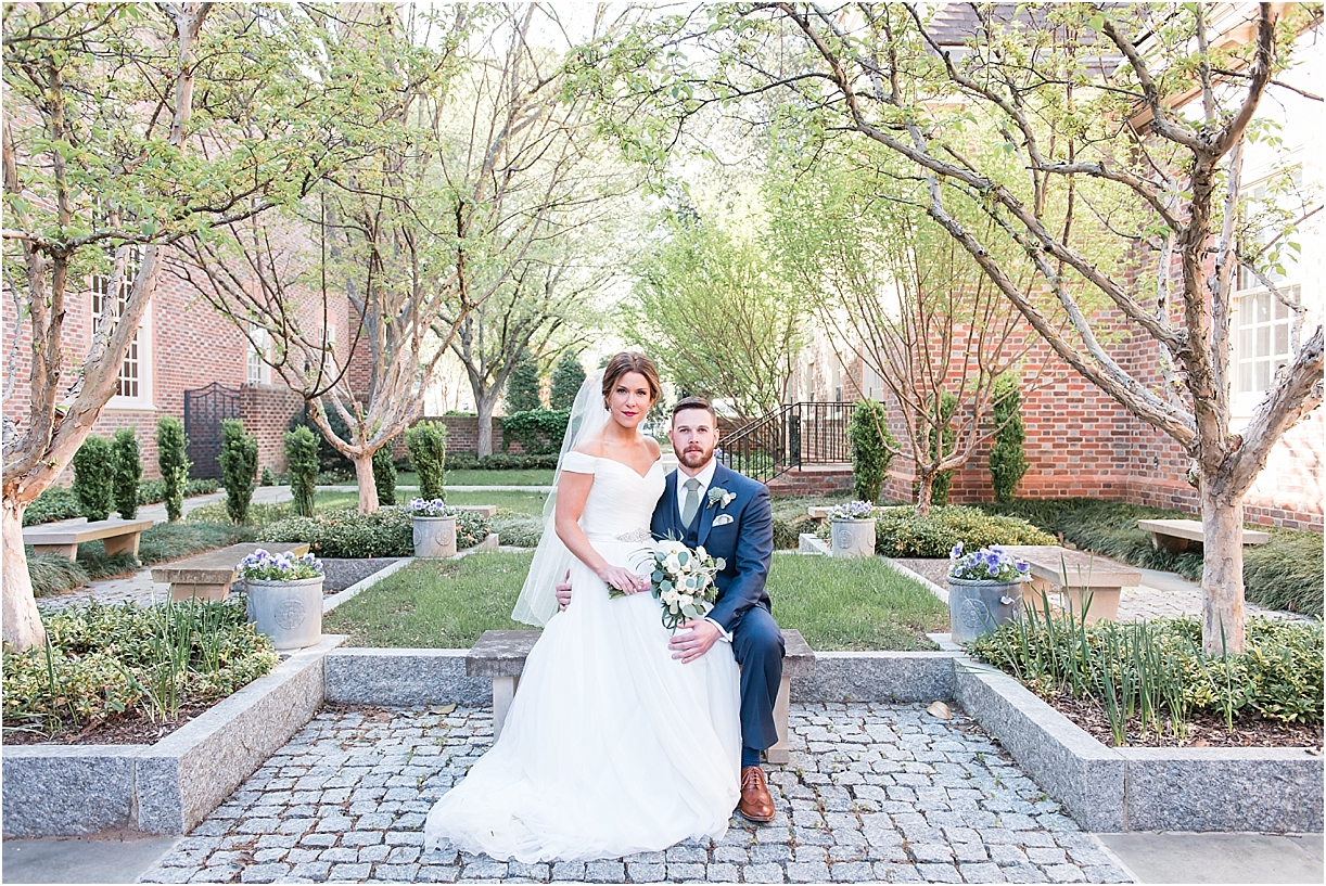 Sophisticated Richmond Wedding in Virginia as seen on Hill City Bride by Melissa Desjardins Photography Newlyweds