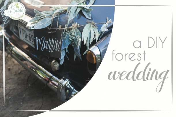 Lynchburg Virginia DIY Forest Wedding as seen on Hill City Bride