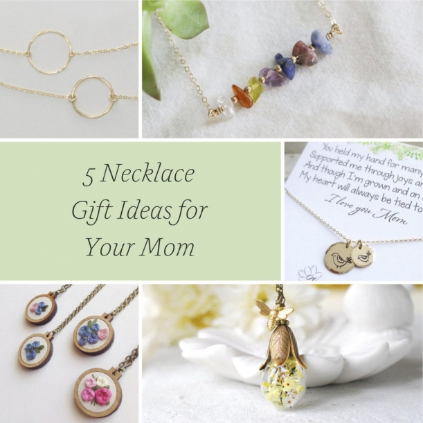 5 Necklace Gift Ideas for Your Mom as Mother of the Bride or Groom and Mother
