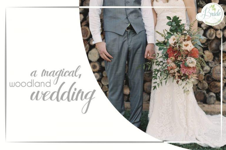 Lynchburg Virginia Magical Woodland Wedding as seen on Hill City Bride by Adam Barnes Photography