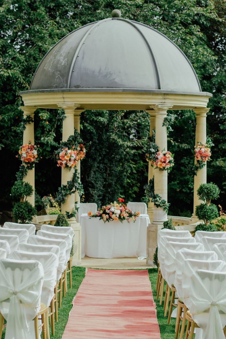 Questions to Ask Wedding Venue Before Booking | Gazebo with Flowers