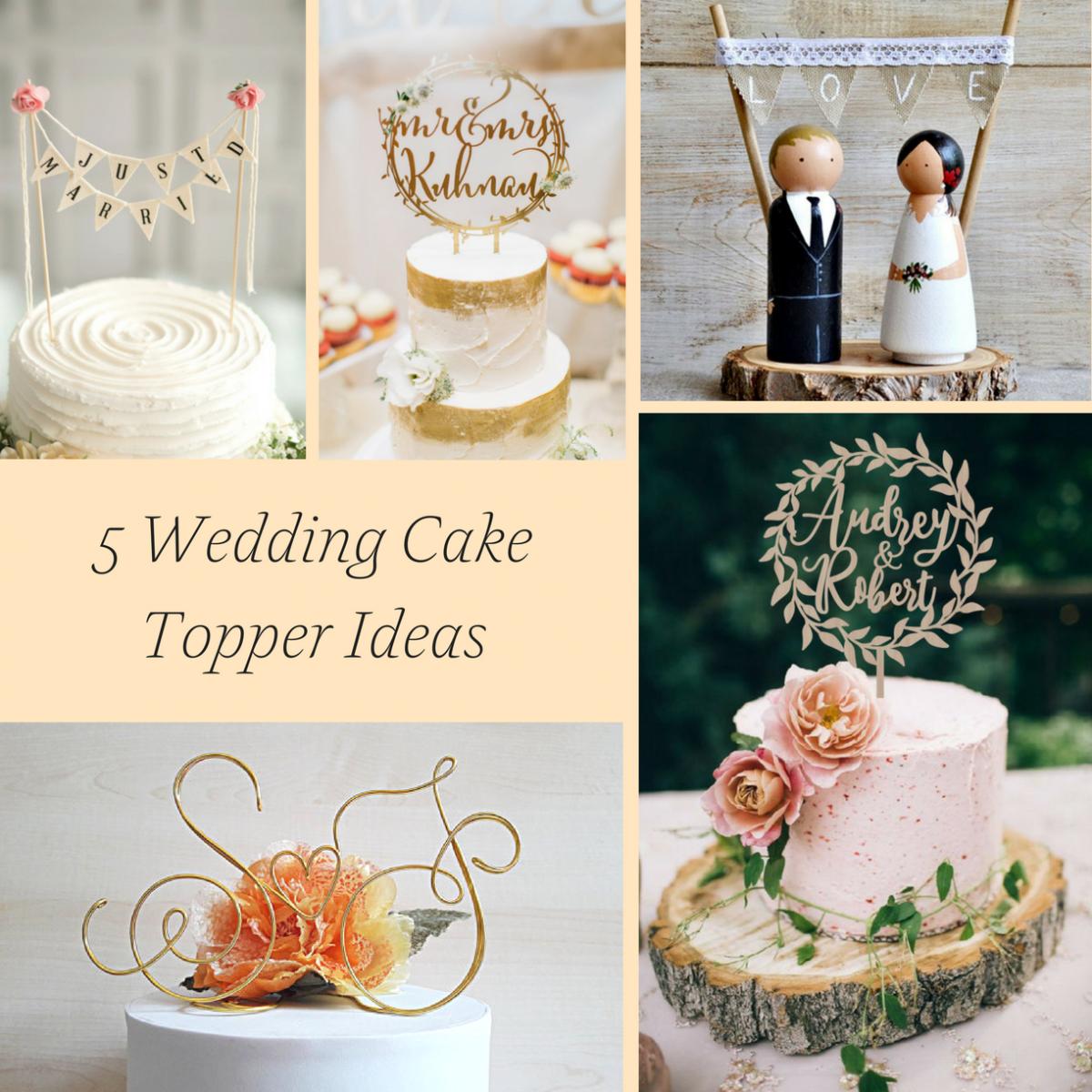 5 Wedding Cake Topper Ideas Hill City Bride Virginia